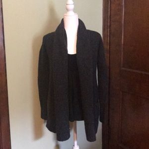 Kaisley Gray Open Front Cardigan Size Small